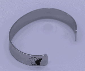 Tri-Vortex treated bangle